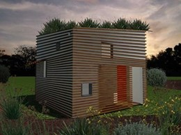 Bondor building eco-friendly cubby house for a great cause