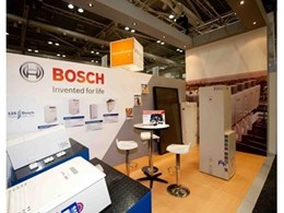 Bosch present their new condensing products at DesignBUILD 2011