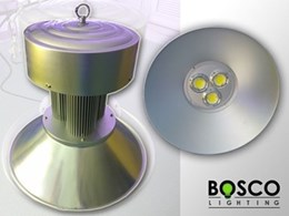BoscoLighting adds LED high bay lights to lighting range