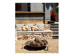Brad Pit fire pits from Robert Plumb