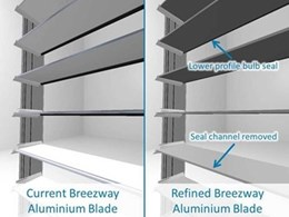 Breezway makes things better with improved aluminium blades