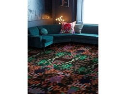 Brintons launches their first broadloom carpet for commercial market with Cristian Zuzunaga