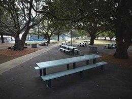 Brisbane City Council selects Unisite park furniture to improve outdoor space