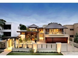 Bristile Roofing flat roof tiles crown multi-million dollar Perth home