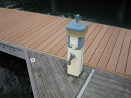BriteDeck composite decking installed for major marina manufacturer in South Australia
