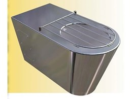 Britex offers Centurion floor mounted waste receptacles
