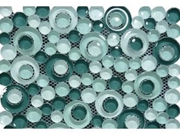 Bubble glass mosaic tiles now available from Hudson Holding