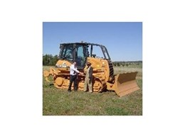 CASE 1150K dozer available from Case Construction Equipment