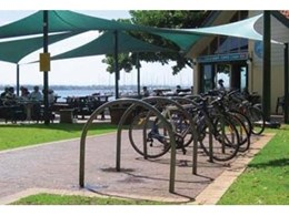 CBR Series Bicycle Parking Rails from Cora Bike Rack