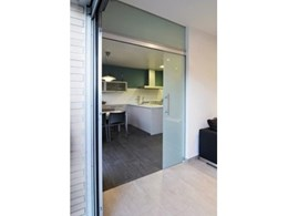 CRL280 Series of top hung sliding door systems available from C.R. Laurence Australia