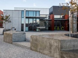 Cemintel's BareStone cladding delivers award-winning results for redesigned Glenorchy art centre