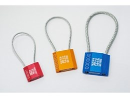 Cable lock seals available from Mega Fortris Australia