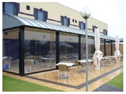 Cafe blinds available from Addstyle Blinds & Awnings