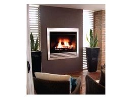 Captiva 600 flue gas fireplaces available from Real Flame