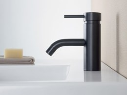 Caroma extends Liano range with new bold and black mixers