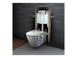 Caroma's Invisi Series II Toilet Suite wins 2009 Australian International Design Award
