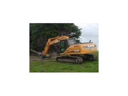 Case CX210B excavator available from CASE Construction Equipment