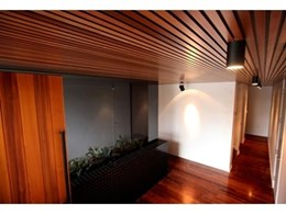 Cedar Sales Two Tone Castellation adds stunning effects to ceilings
