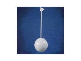 Ceiling Rod Suspended Sphere from Dasco Lighting