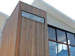 Channel Clad cedar timber cladding from Cedar Sales