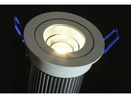 Chip on Board LED downlights now available from Tec-know Display and Lighting