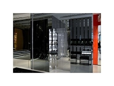 christian dior flagship features platform lift company. Black Bedroom Furniture Sets. Home Design Ideas