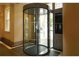 Circlelock security booth from Record Automated Doors prevents unauthorised entry to secure areas
