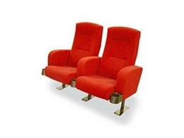 Club cinema seating available from Effuzi International
