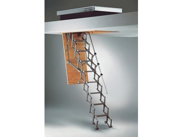 Columbus Flat Roof Commercial Attic Ladders From Attic