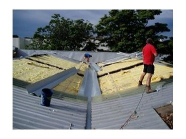 Commercial Metal Roof Box Gutters From Commercial Roofing
