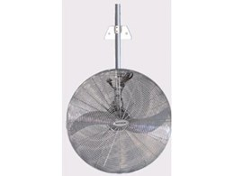 Commercial oscillating propeller fans available from Universal Fans