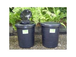 Compact N-L composting toilet systems from Ecoflo Water Management