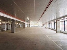 Composite Global's rigid insulation board helps create compliant car park
