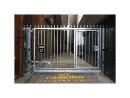 Control vehicles and pedestrians with security swing gates