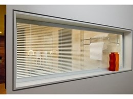 Controllaview presents new integrated Venetian blinds for commercial/industrial buildings
