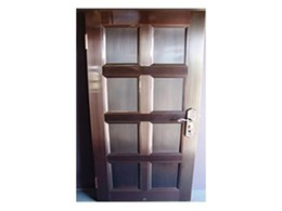 Copper entrance doors available from Copper Roof Shingles