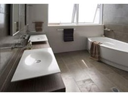 Corian solid surface material perfect for bathroom vanity tops