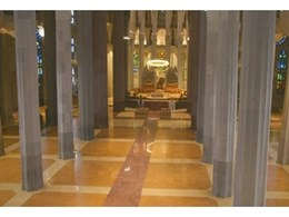 Corkcomfort cork flooring used in La Sagrada Familia Cathedral