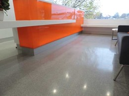 Select Group's Geelong office gets a contemporary floor with Covet 10mm concrete overlay