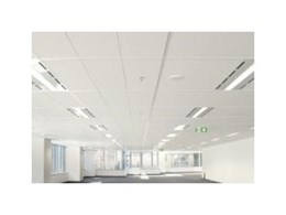 Create crisp clean ceilings with CSR Fricker's Specialist mineral fibre tiles