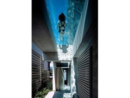 Create designer swimming pools with structural acrylic from AquaPlex Industries