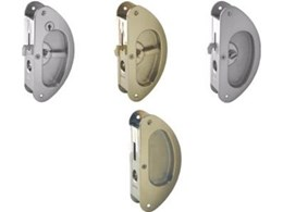 Crescent Sliding Door Lock from Cowdroy H.M