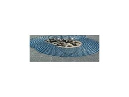 CrystalPave crushed glass decorative paving brings life to Gungahlin town centre
