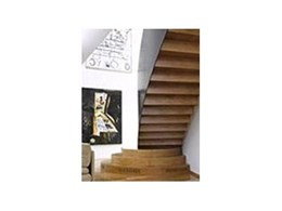 Curved contemporary staircases from S & A Stairs