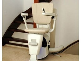 Curved stairlifts from All About Lifts