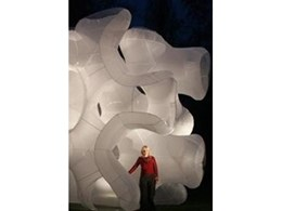 Custom designed inflatable structures available from 1300 Inflate