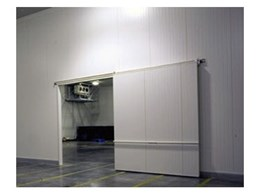Custom engineered cold storage doors, from Bondor