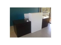 Custom reception desks from SK Office Furniture