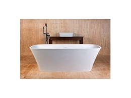 DADOquartz Carmen baths and basins available from Dado Australia