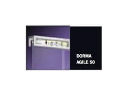 DORMA AGILE 50 Glass Door Track from DORMA Australia